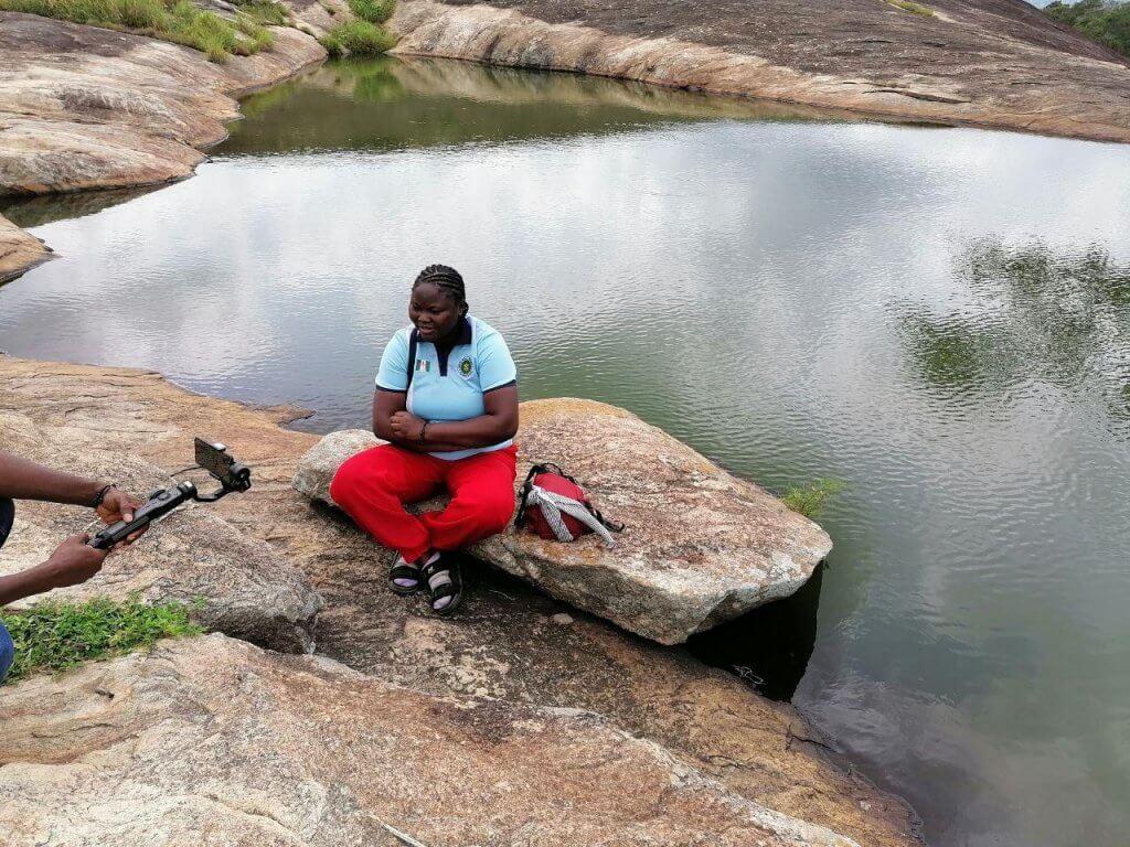 Iyake Lake at Ado-Awaye Town in Oyo State - Natural Suspended Lake
